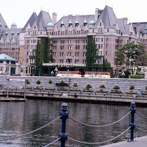 The Fairmont Empress offers luxurious waterfront accommodations.