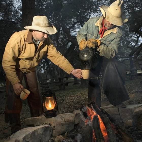 Try camping like a cowboy in Texas!