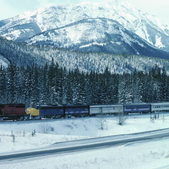 Canada's passenger railways stretch across the continent.