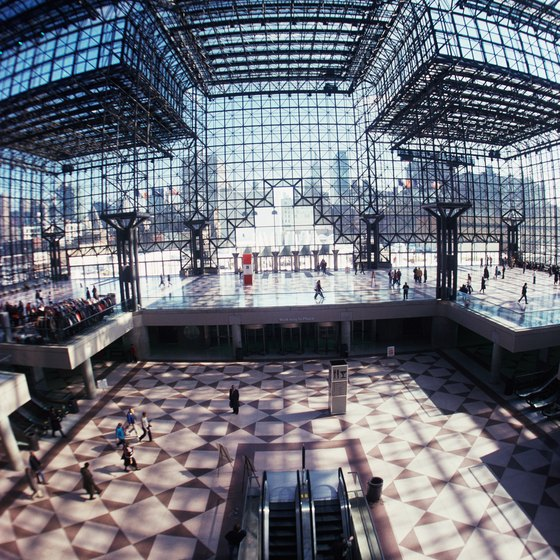The expansive Javits Center hosts large conventions each year.