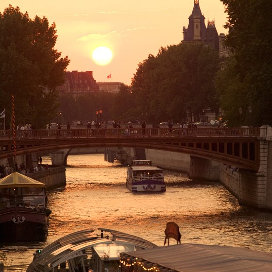 Take a side trip off the Seine and cruise some of Paris's colorful canals.