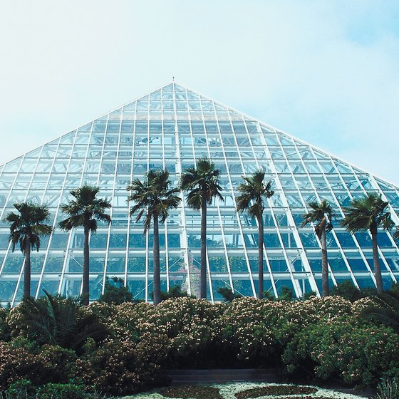 Moody Gardens in Galveston, Texas is just one of many U.S. pyramids.