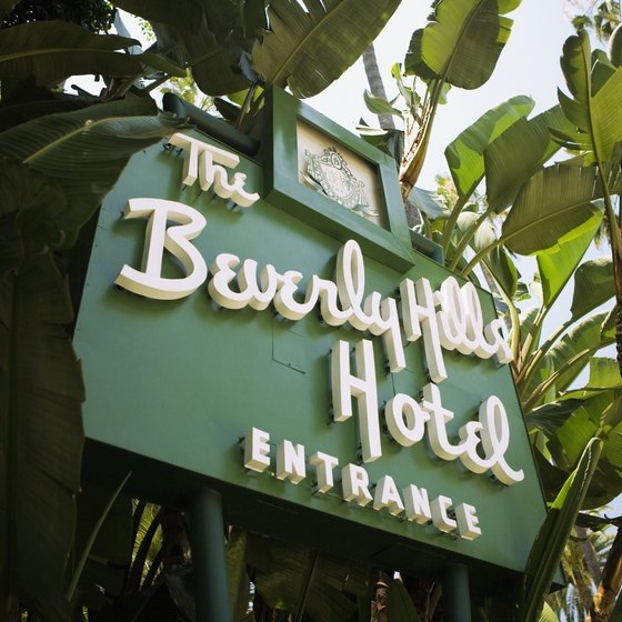 The Beverly Hills Hotel is one of many local hotels to accept pets.