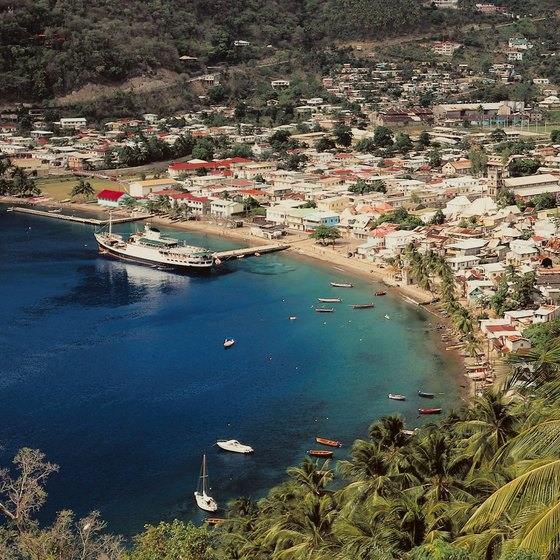Soufriere is a coastal town in southwestern St. Lucia.