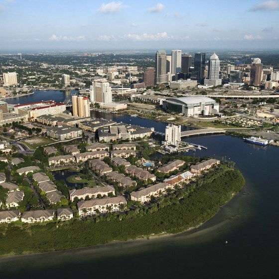 Several Historic Hotels Are Near Tampa Bay