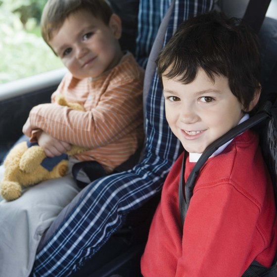 Illinois' car safety requirements are based on a child's age.