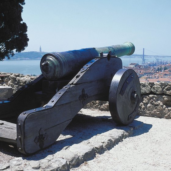 The view from Saint George Castle atop one of Lisbon's seven hills.