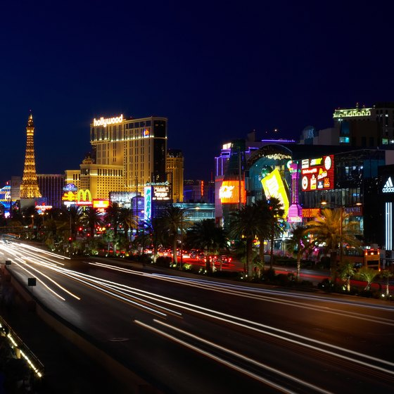 Ride a motorcycle down the streets of Las Vegas after dark for an unmatched view of the city.