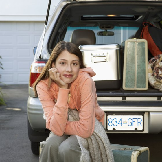 Packing carefully makes a trip easier for you and your teen.