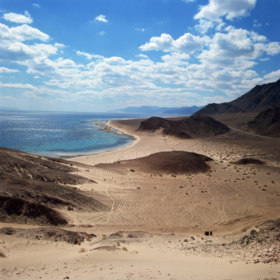 The Red Sea is famous for snorkeling, diving and other watersports.