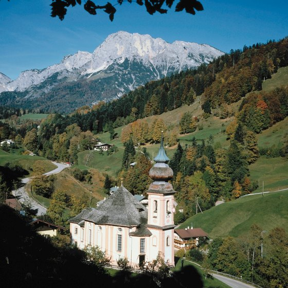 Berchtesgaden's mountain landscape is a delgiht for hiking.