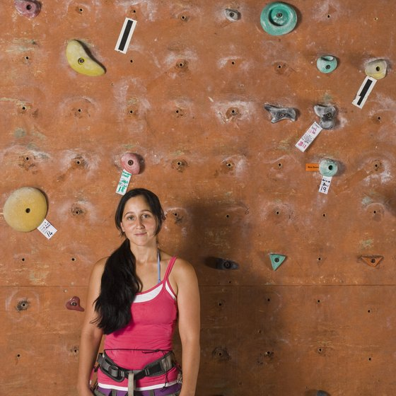 Visitors to the Philadelphia area can choose from a number of rock climbing gyms.