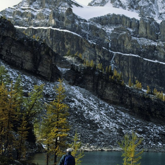 Hundreds of miles of trails make the Canadian Rockies a hot spot for hiking.