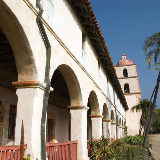 Many missions have been classified as California historical sites.
