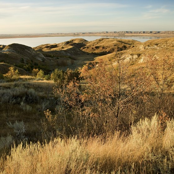 The North Dakota Badlands feature striking views.