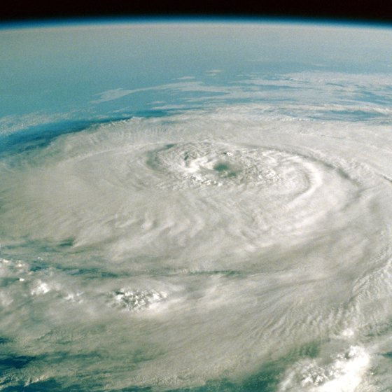 September is the peak of hurricane season in the Caribbean.