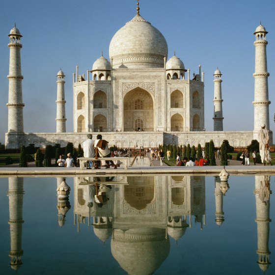 The Increidble India campaign focuses on India's enchanting treasures, such as the Taj Mahal.