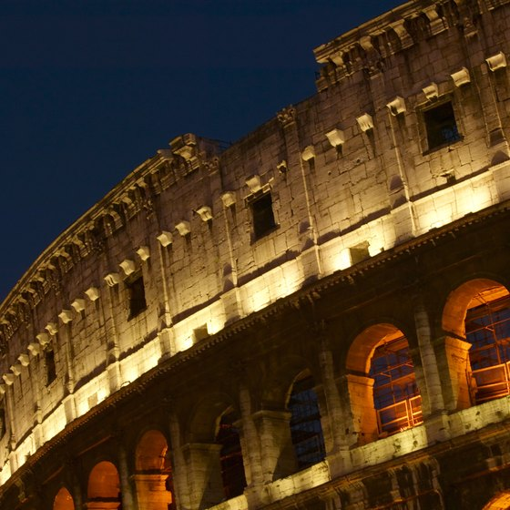 See history up close at the Colosseum.