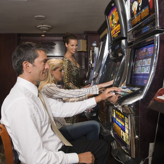 Slot play is available at all of the casinos near Hoover Dam.