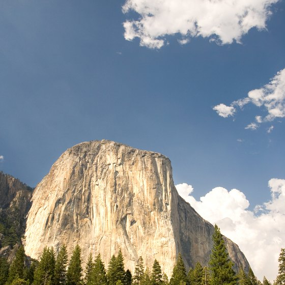 Half Dome is one of the most photographed features of Yosemite.