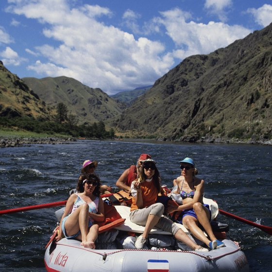 Raft down the Snake River in Hells Canyon.