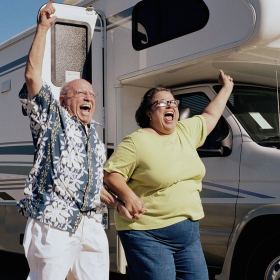 Everyone in the family can enjoy their motor home trip through Palm Springs.