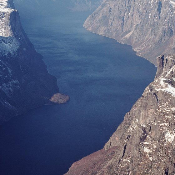 The fjords of Norway are among its greatest attractions.