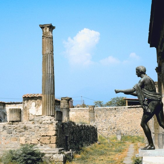 After seeing Pompei's ancient sights, enjoy its cuisine at one of the city's finer restaurants.