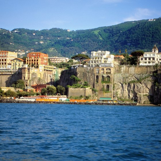 Sorrento's location on the Italian coast makes it an easy travel destination.
