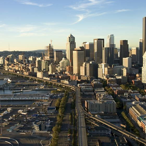Seattle is just one of Washington's coastal attractions.