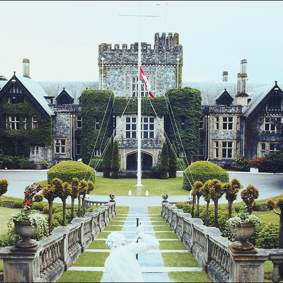 Hatley Castle in Victoria has its own collection of ghosts.