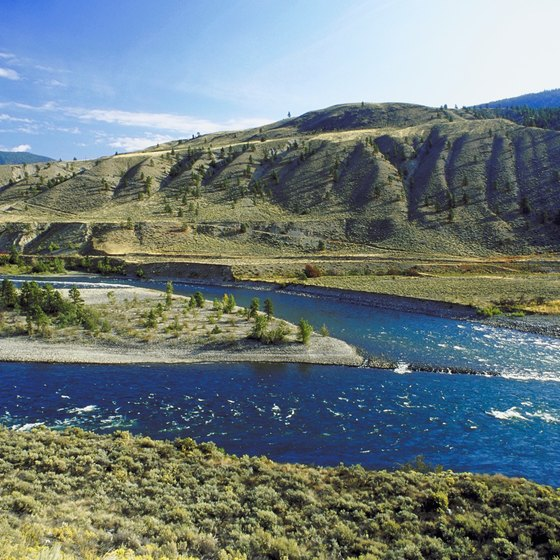 At the meeting point of the Thompson and Fraser rivers, Lytton is considered the rafting capital of Canada.