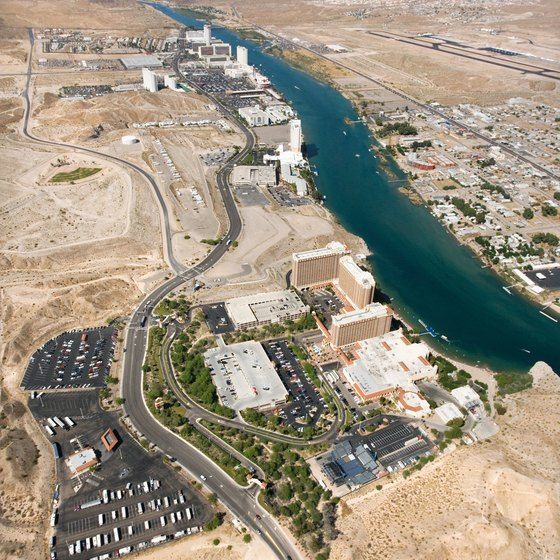 Bullhead City Sits Right Across The Colorado River From Laughlin Nevada