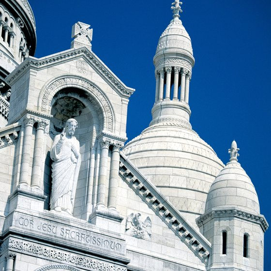 Sacre Couer in Paris is a must-see on many Catholic tours to Europe.
