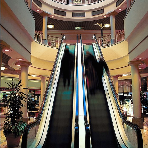 Each year millions of shoppers visit shopping malls across the United States.