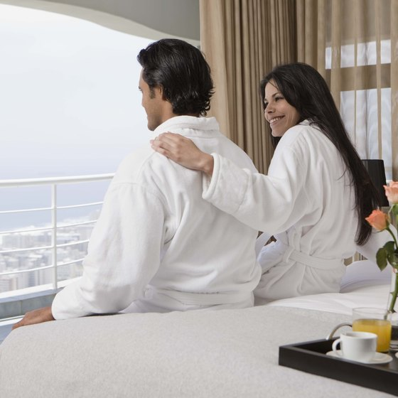 Enjoy the view from a luxury five-star hotels in Doha.