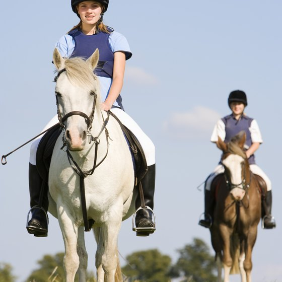 Horseback riding camps are a great way to get kids outdoors and active.