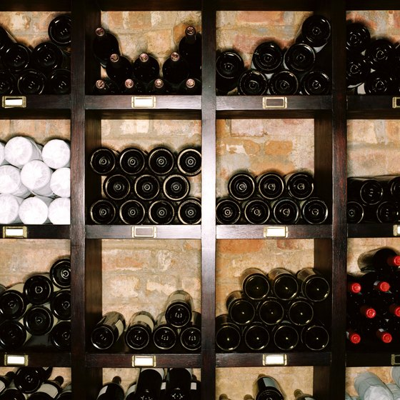 A hotel may use a wine dinner to showcase the best of its cellar.