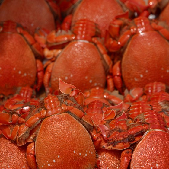 Crawfish are a local favorite in Biloxi.