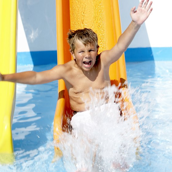Each Delaware water park features different admission policies for children.