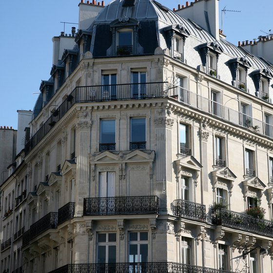 You can enjoy Haussmannian architecture almost anywhere in Paris.