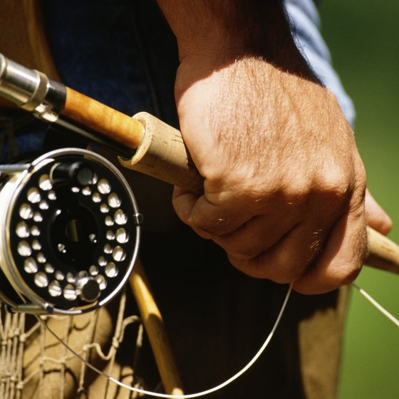 The Androscoggin River is a top fly-fishing destination for trout.