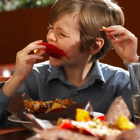Kid-friendly restaurants offer fun, messy food with plenty of room for kids to be comfortable.