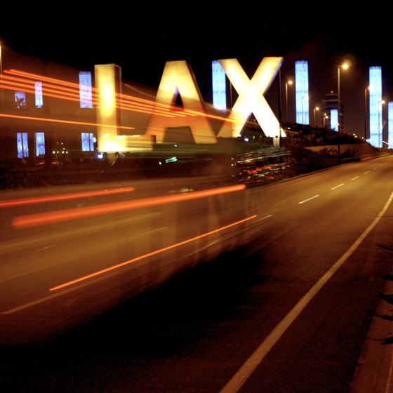 Los Angeles International Airport is one of the busiest in the world.
