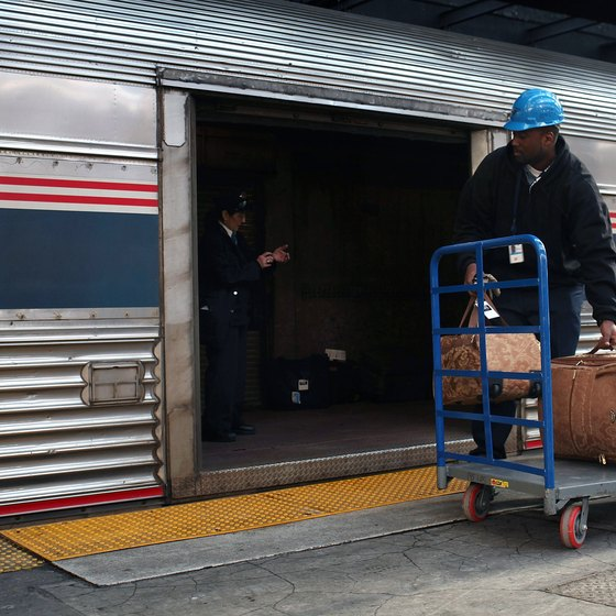 Amtrak's baggage policy makes it a good choice for travelers with lots of luggage.