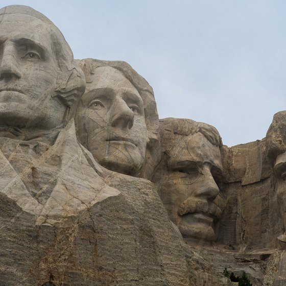 Mount Rushmore is one of the region's leading landmarks.