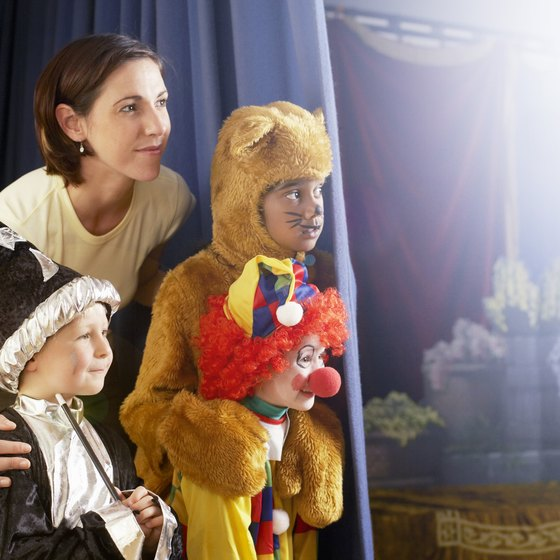 The Majestic Theater in Corvallis draws kids of all ages to the stage.