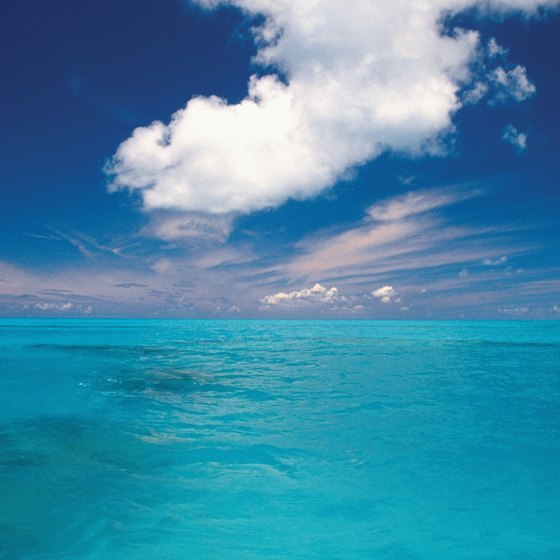 Bermuda is known for its turquoise waters.