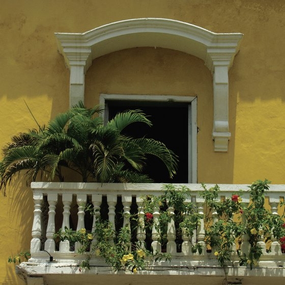 The Colonial-style city of Cartagena is one of Colombia's main attractions.
