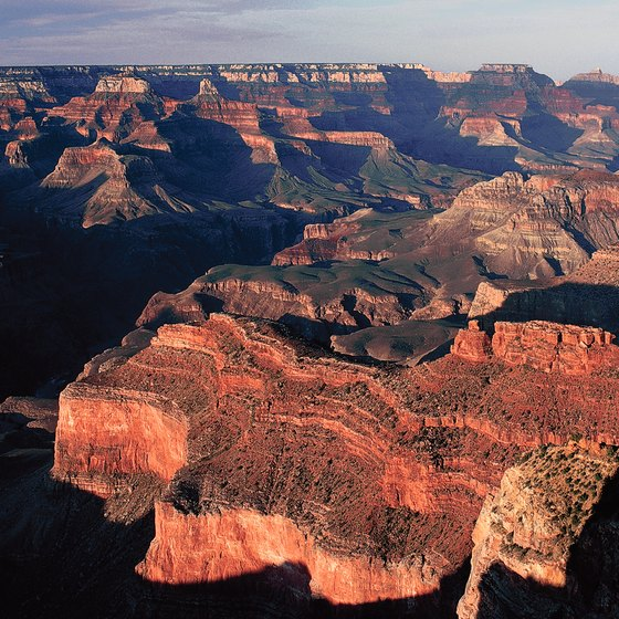 The Grand Canyon is part of Arizona's Colorado Plateau Region.